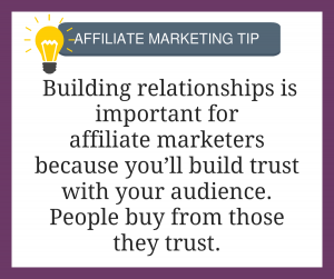 Affiliate Marketing Tip